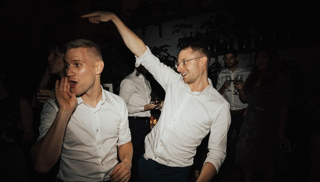 Same-Sex Couple Dance To Melbourne Wedding DJ