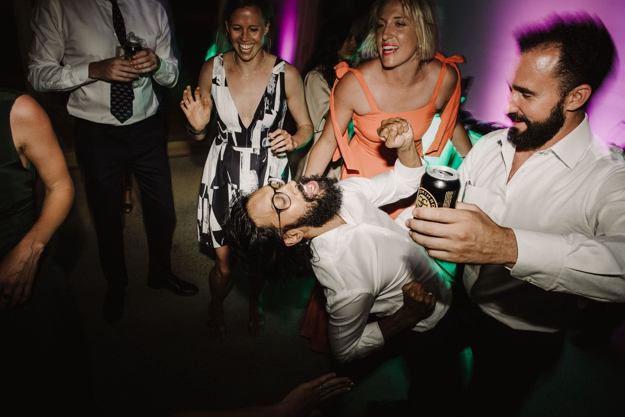 Guests Having Fun At Melbourne Wedding Reception