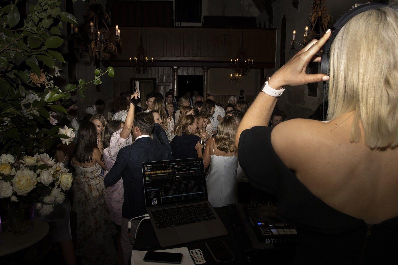 Churchill Events Wedding DJ Behind the Decks