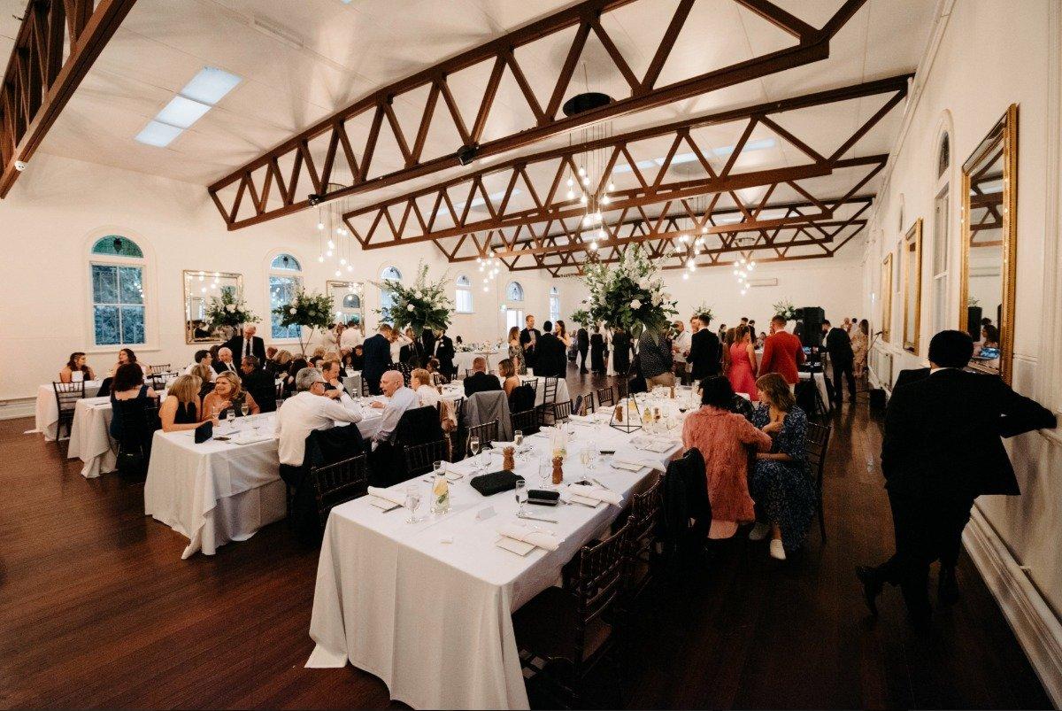 Abbotsford Convent Wedding Venue Table Arrangement