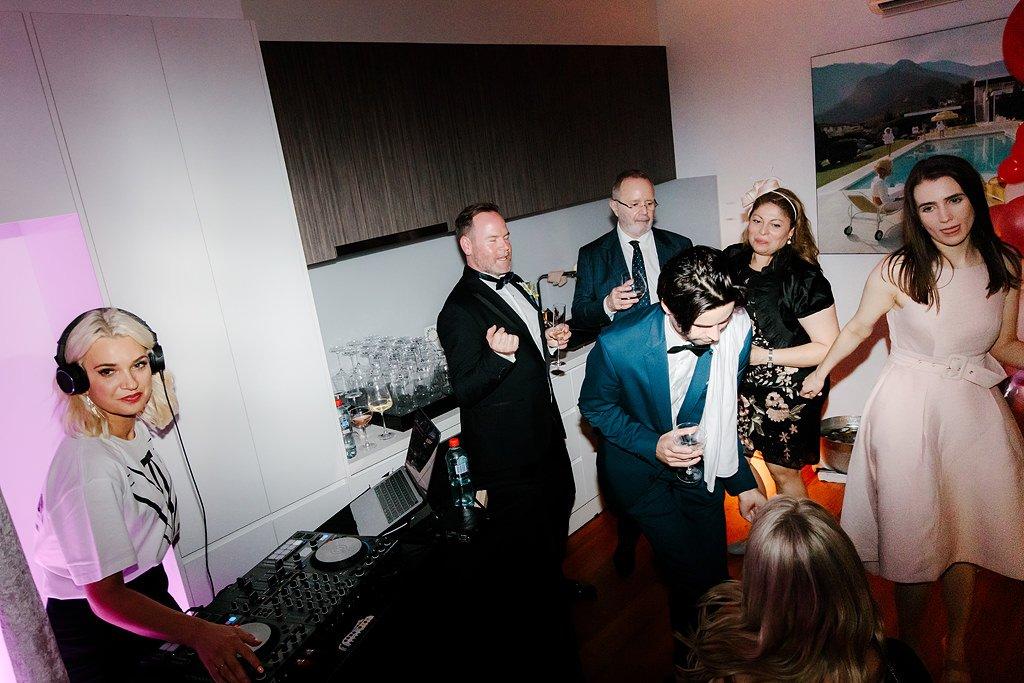 Same Sex Wedding Dance Floor with DJ Aleks Mac in Thornbury Melbourne