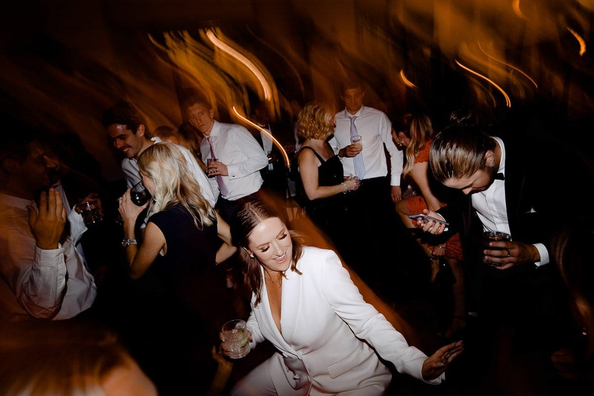 Bride On Dance Floor Wedding At Ormond Hall In Melbourne