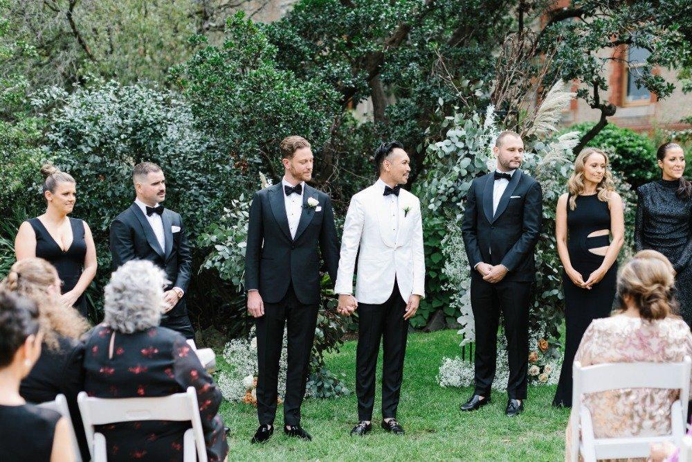 Melbourne Wedding Venue Abbotsford Convent Garden Ceremony
