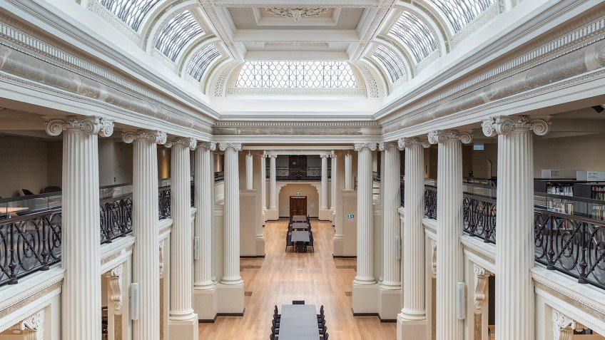 The Ian Potter Queens Hall Room At State Library Victoria