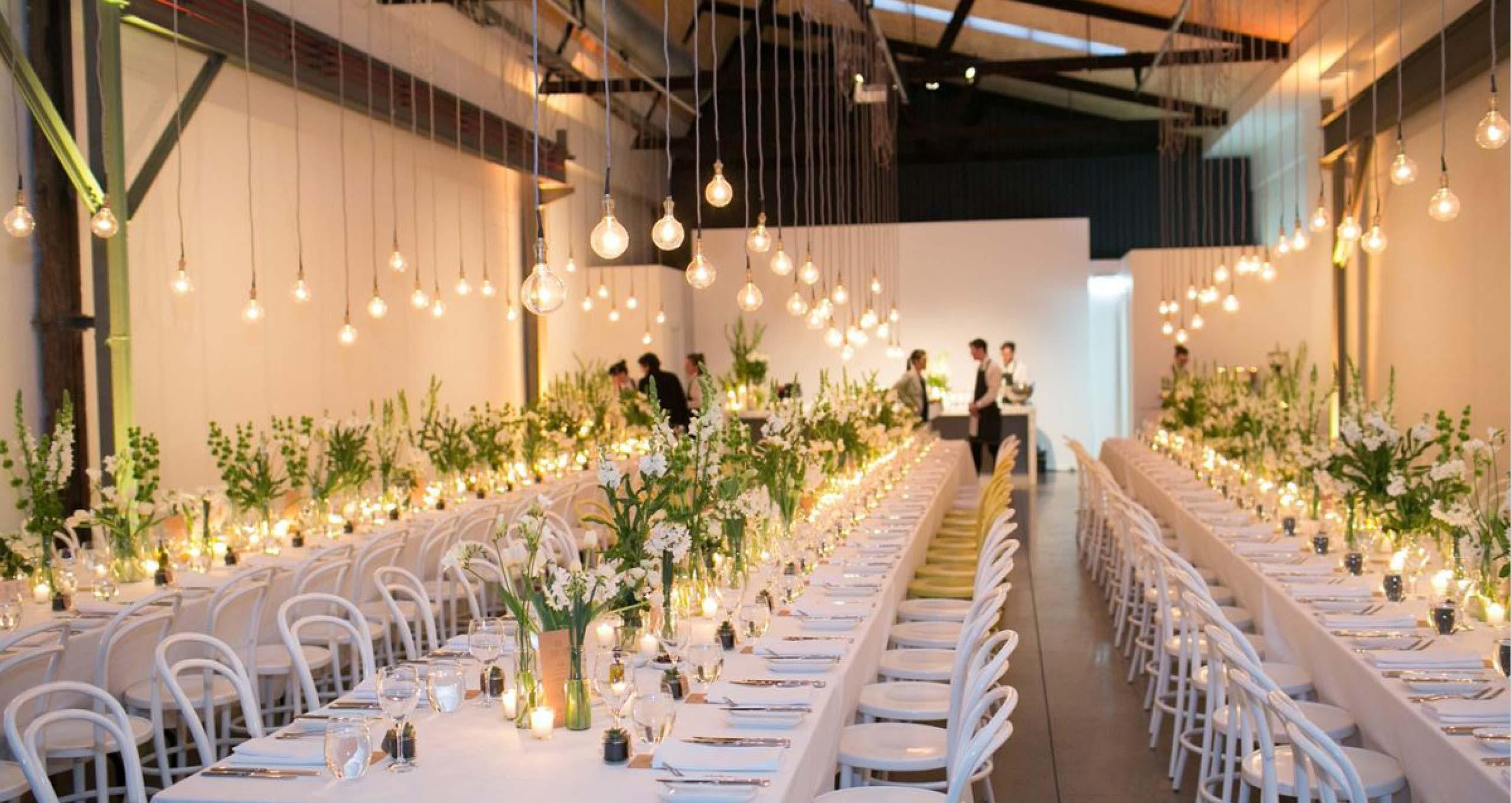 Two Ton Max Melbourne Wedding Venue Table Setting