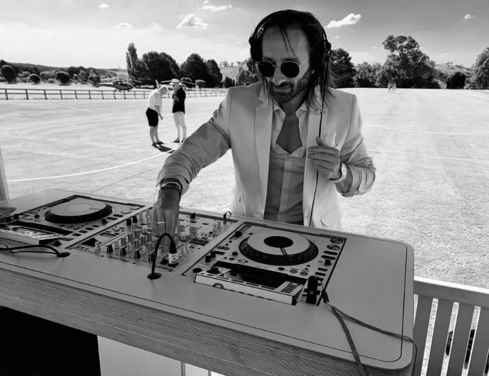 Melbourne DJ at Polo Event