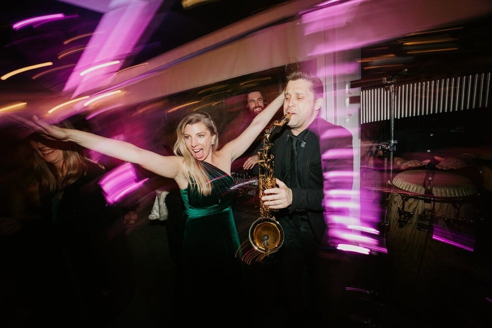 Wedding DJ And Sax