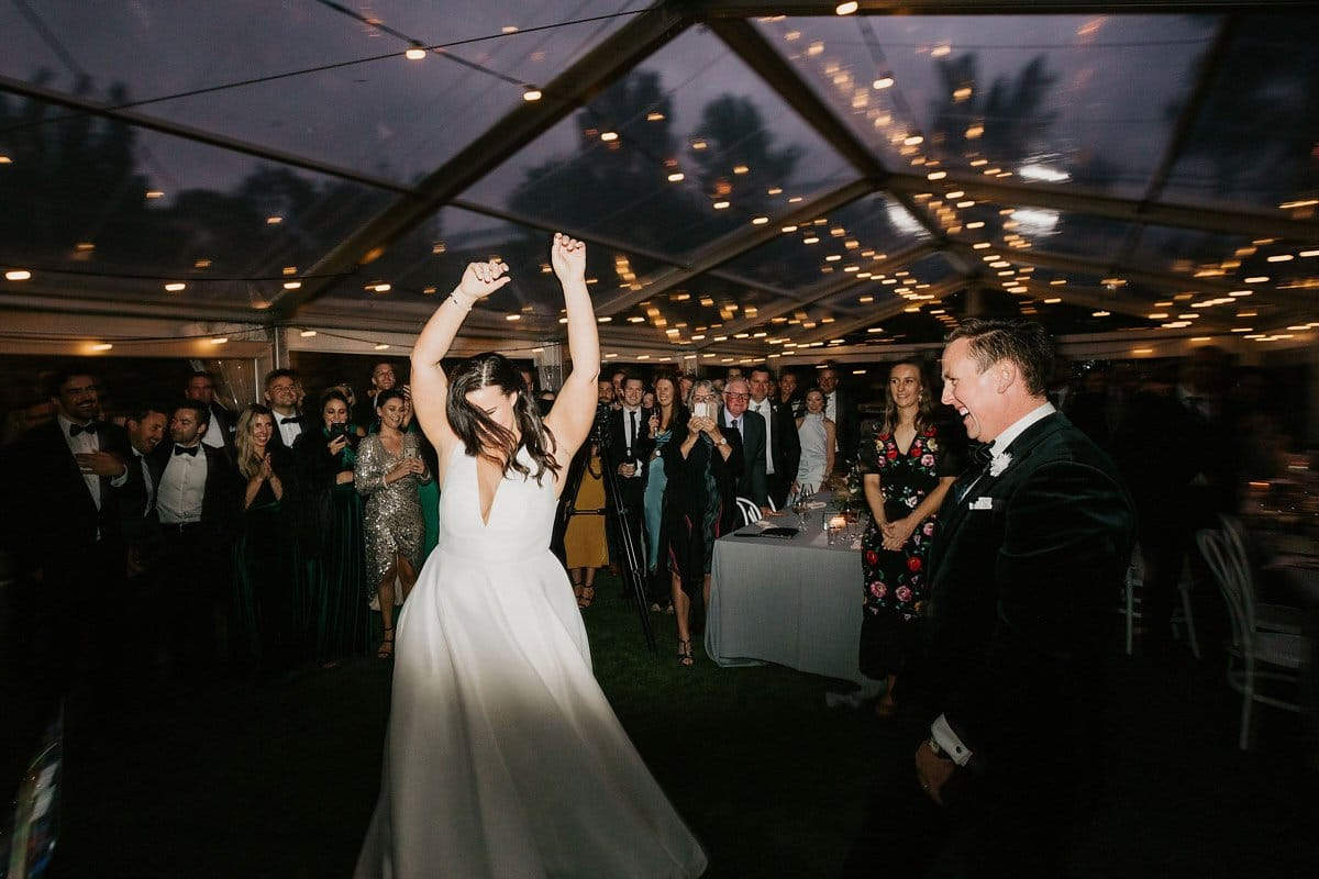 Ballarat Bride On Dance Floor