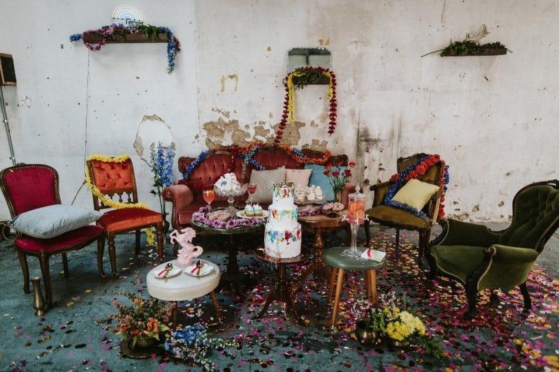 Melbourne Wedding Vintage Furniture Hire