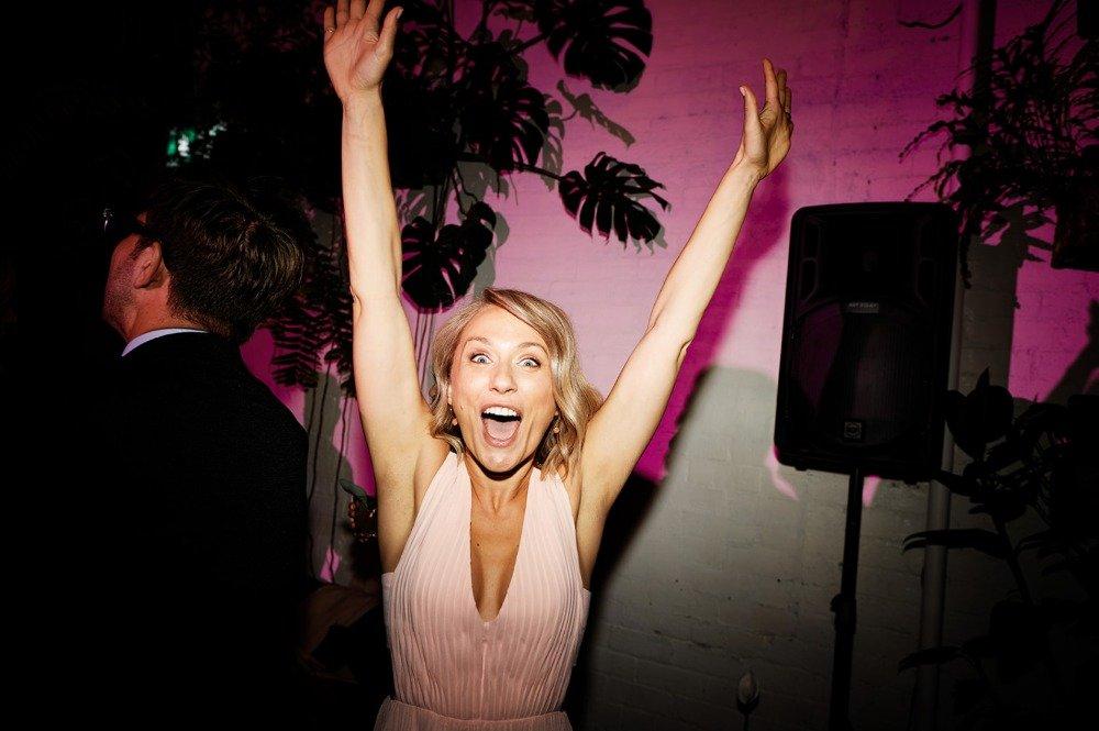 Melbourne Wedding Happy Girl