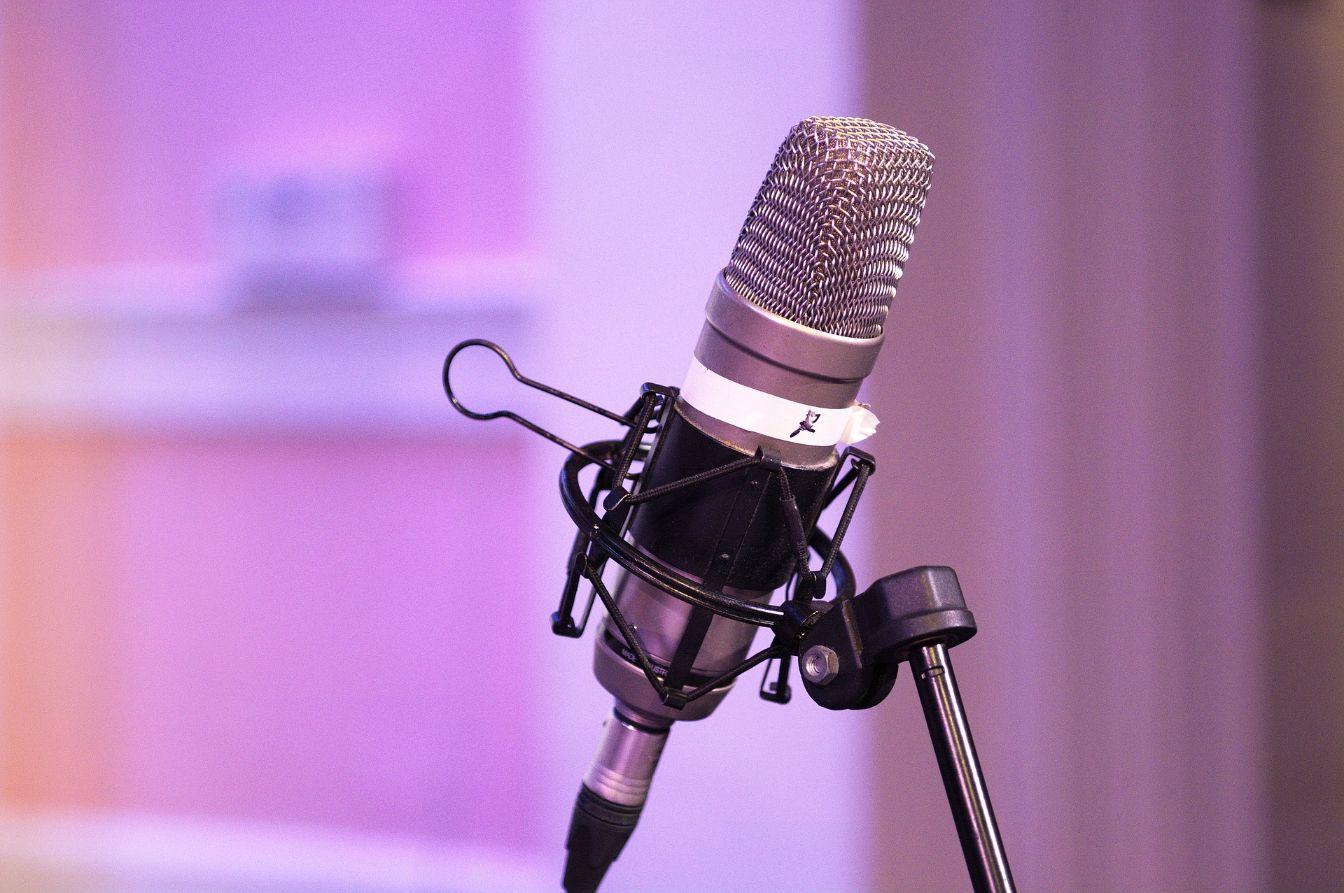 Melbourne Wedding DJ Podcast Microphone