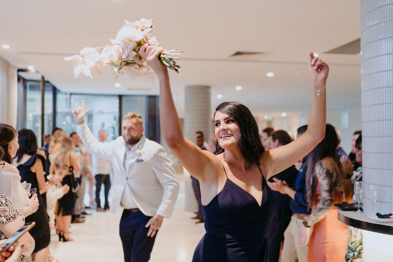 Melbourne wedding party entrances