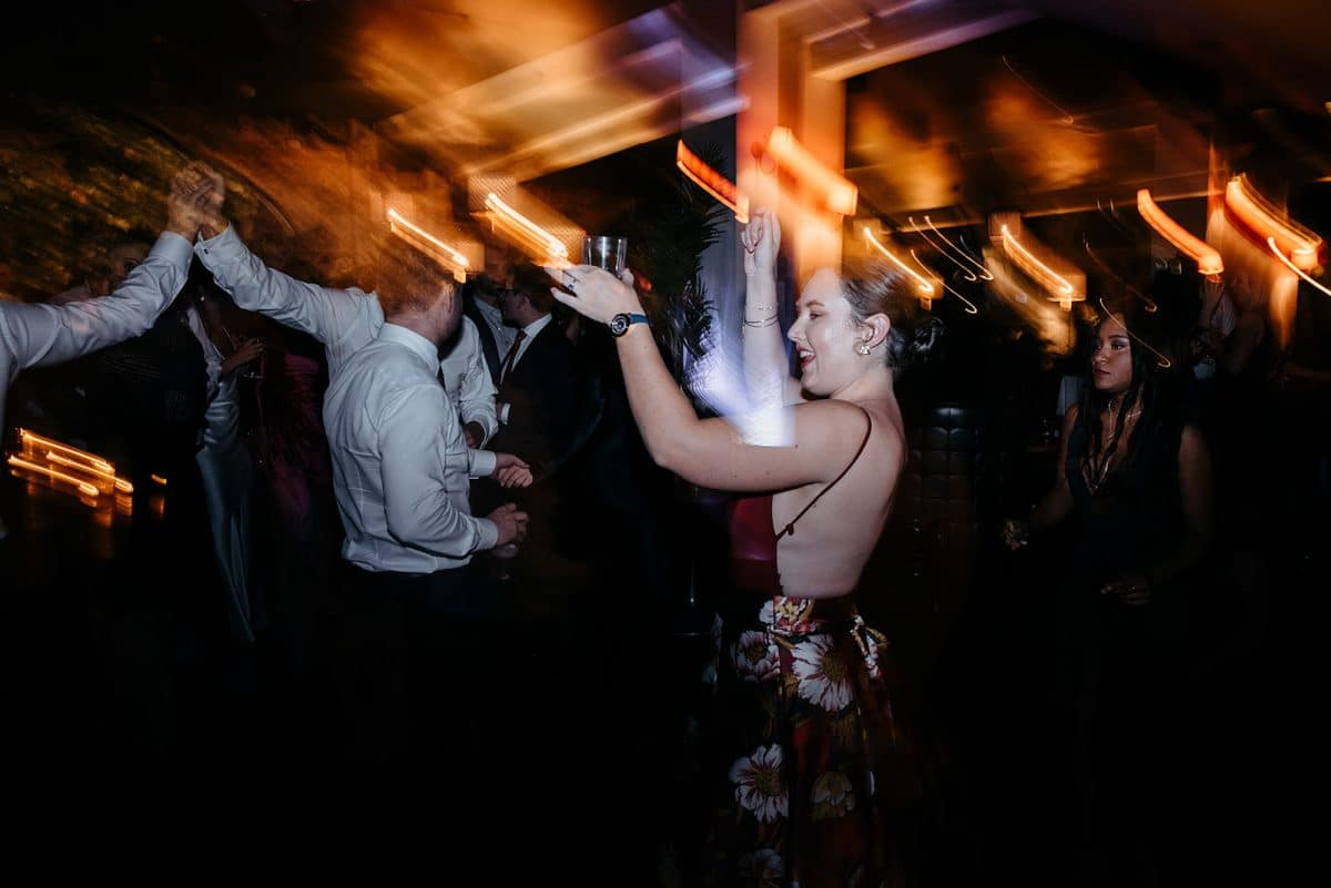 Wedding Guests Dance At Panama Dining Room In Fitzroy