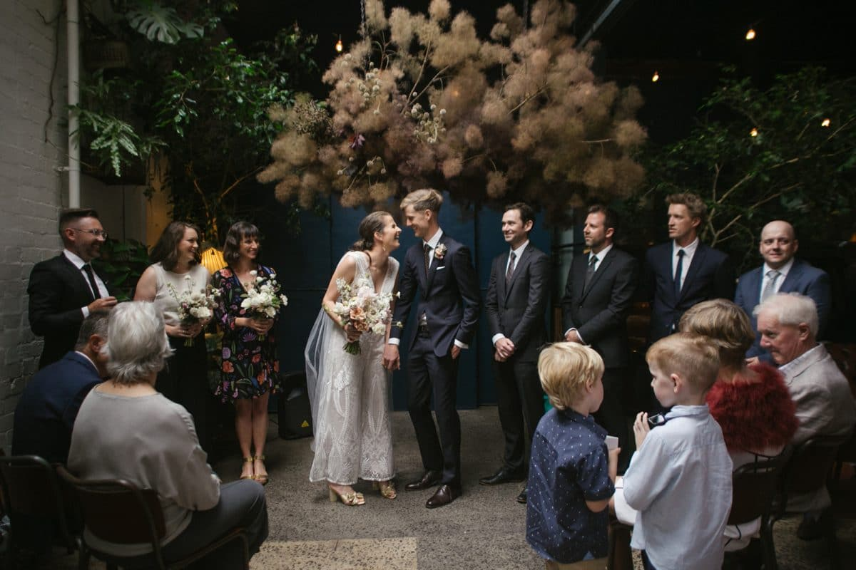 Jess And Al Wedding Ceremony At Rupert Photographed By Brown Paper Parcel