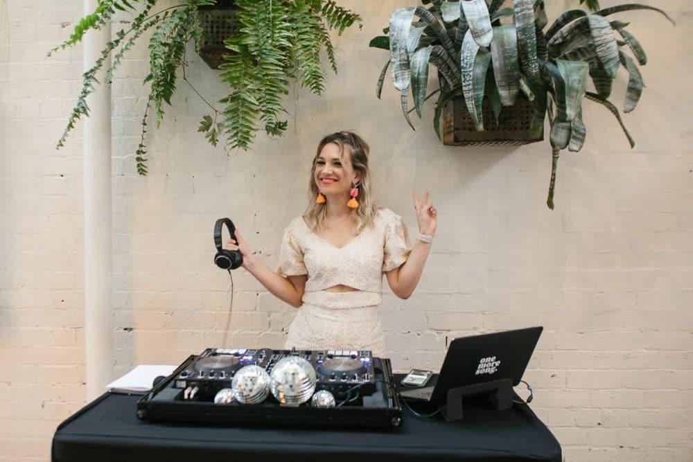 DJ Aleks Mac Poses At Rupert Wedding Photographed By Brown Paper Parcel